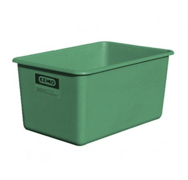 GFK Rechteckbehälter 500 l flach, grün