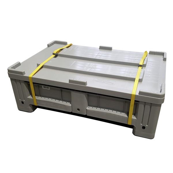 Behälter zum sammeln und lagern von Lithiumbatterien