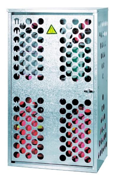 Gasflaschendepot Typ GFL-D 1 mit 1 Zwischenboden