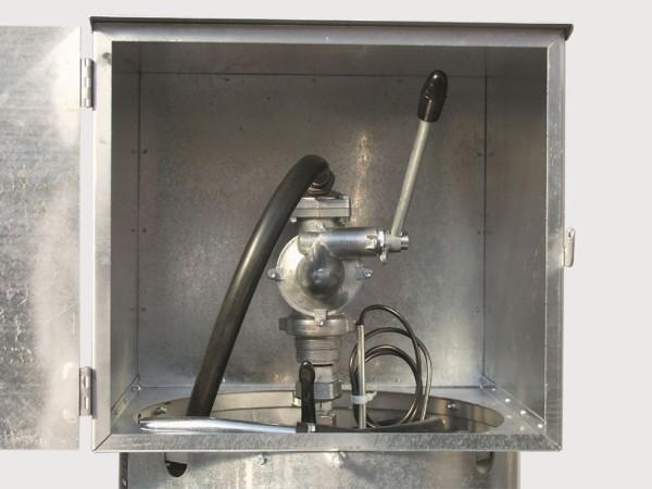 Handpumpe 40 l/min. mit Auslaufkrümmer und