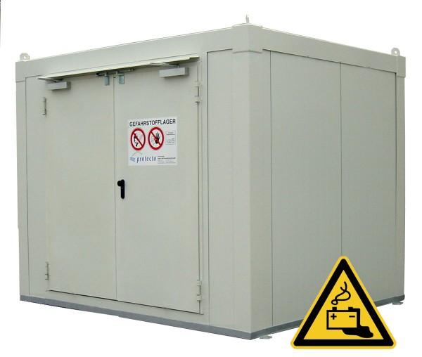 F-SAFE Lithium-Ionen-Batterielager F90 Raum