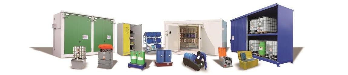 PROTECTO - Systeme zur Gefahrstofflagerung