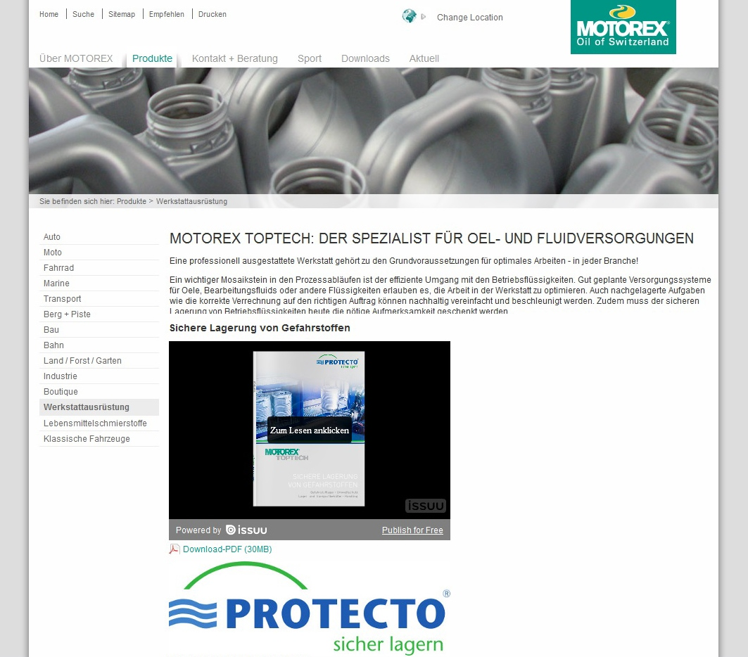 Motorex_PROTECTO_Schweiz