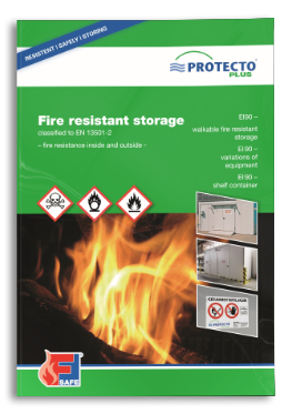 PROTECTO Fire resistance storage F90