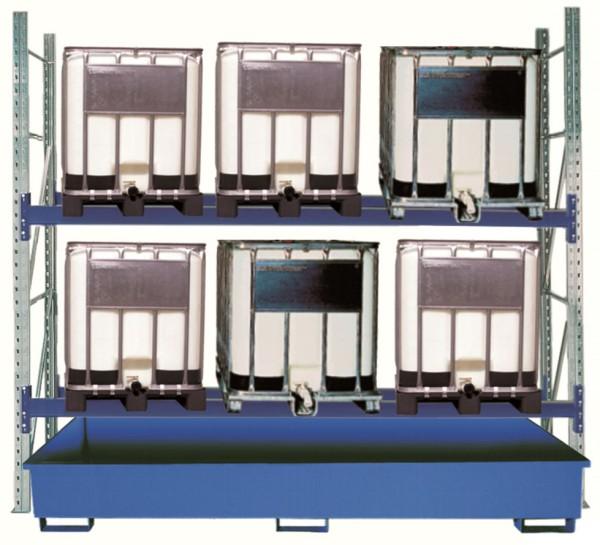 Gefahrstoff-Palettenregal Typ 33/1000-2 Grundfeld