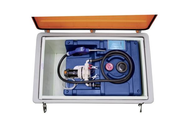 Isolierbox für Mobile AdBlue-Tankanlage