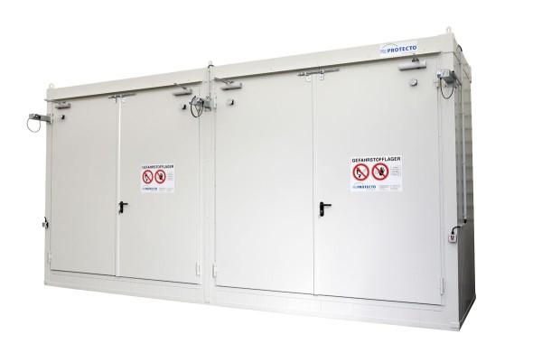 F-SAFE Gefahrstoffcontainer F90 Regal BLS R2 EN