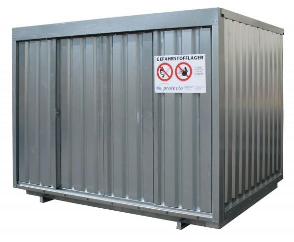 Gefahrstoffcontainer SRC 3.1N verzinkt