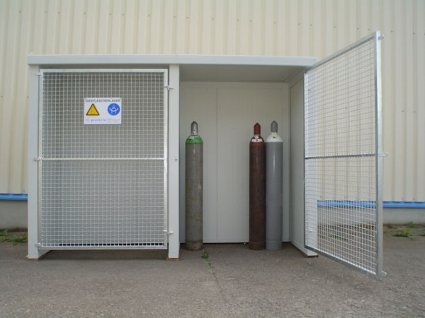 F-SAFE Gasflaschenlager GFL-P 2.2